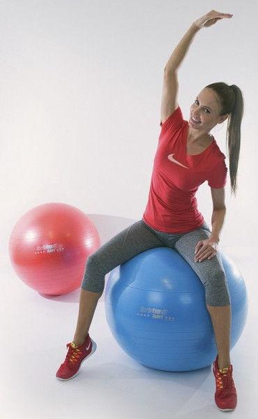 Christopeit Gymnastics Ball Red 65cm