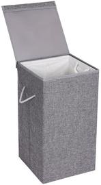 Veļas kaste Songmics Laundry Basket Grey 36x36x66cm