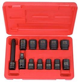 Triecienmuciņu komplekts 1/2in 10-24mm 12gab