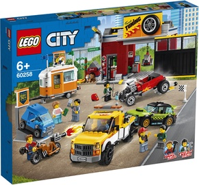 Konstruktorius LEGO City Tuning Workshop 60258