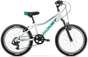 """Vaikiškas dviratis Romet Rambler 2120636, mėlynas/baltas, 10"""", 20"""""""