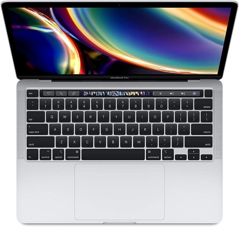 Ноутбук Apple MacBook Pro Retina with Touch Bar QC / ENG Silver, 16 GB, 512 GB, 13.3 ″
