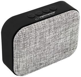 Belaidė kolonėlė Esperanza Samba Bluetooth Speaker Grey