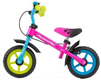 Vaikiškas dviratis Milly Mally DRAGON Balance Bike Multicolour 2152