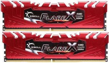 Оперативная память (RAM) G.SKILL Flare X F4-2400C15D-16GFXR DDR4 16 GB CL15 2400 MHz