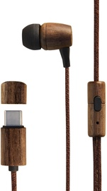 Energy Sistem Eco Walnut Wood In-Ear Earphones