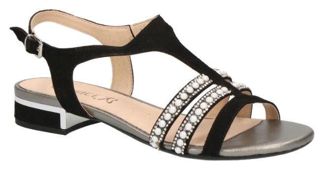 Basutės, Caprice Sandals 9/9-28111/22 Black 40.5