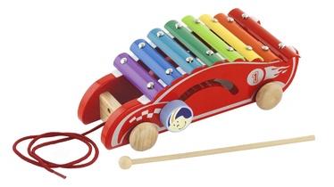 Viga Pull Along Xylophone Musical Toy Racing Car 50341