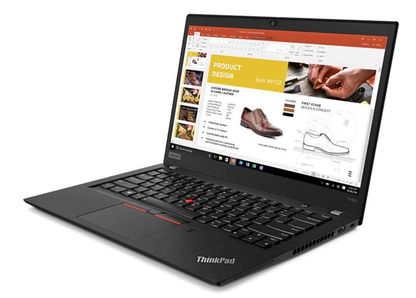 "Nešiojamas kompiuteris Lenovo ThinkPad T T490s Black 20NX007XMH Intel® Core™ i5, 8GB/256GB, 14"""