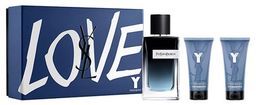 Komplekts vīriešiem Yves Saint Laurent Y 100 ml EDP + 50 ml After Shave Balm + 50 ml Shower Gel