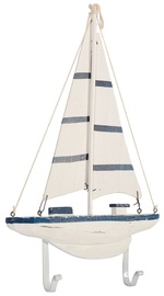 Home4you Wall Hanger Sail Boat 85232