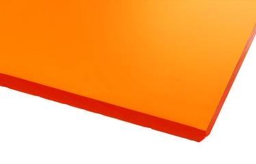 Ohne Hersteller Acrylic Glass GS Transparent Orange 500x500mm