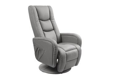 Atzveltnes krēsls Halmar Pulsar Grey, 85x68x85 cm