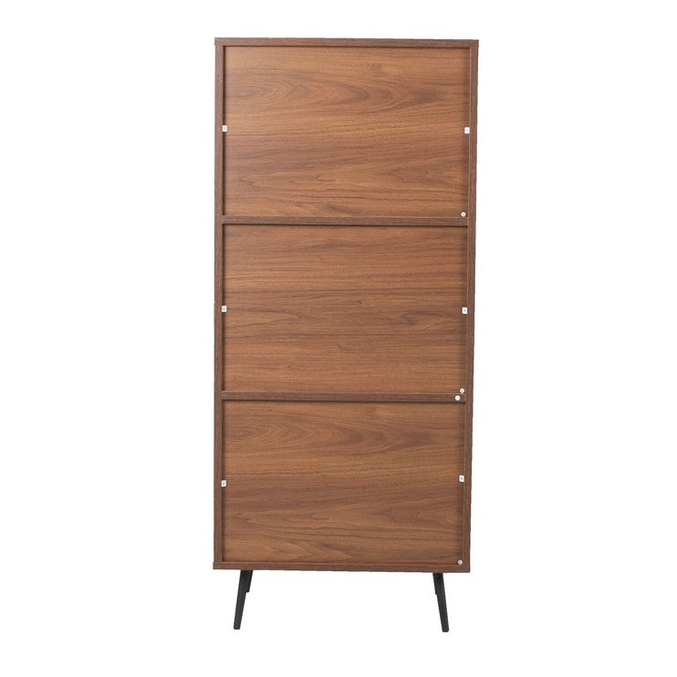 Home4you Rio Chest Of Drawers Walnut/Grey