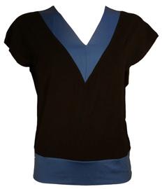 Bars Womens T-Shirt Black/Blue 90 L