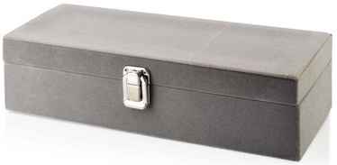 Mondex Laura Jewelry Box Gray 28x10.2x7.8cm