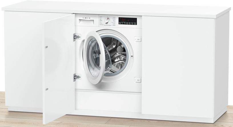 Įmontuojama skalbimo mašina Bosch Series 8 WIW28440