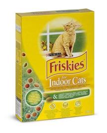 Sausas ėdalas katėms Friskies Indoor, su vištiena ir sodo žolelėmis, 300 gr
