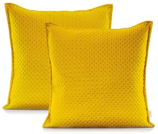 AmeliaHome Carmen Pillowcase Honey Yellow 45x45 2pcs