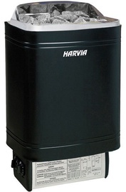Elektrikeris sauna Steel Top M80 8 KW, must, Harvia