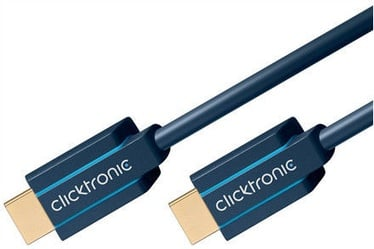 Clicktronic Cable Ultra High Speed HDMI To HDMI 1.5m Blue