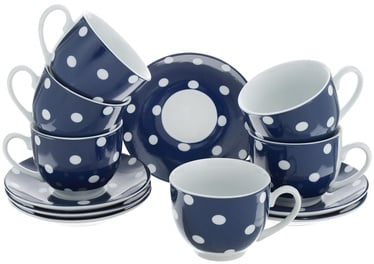 Mayer & Boch Tea Set 22cl Blue 6pcs 25903