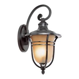 Tvirtinamas šviestuvas 004-WD, 60W, E27, IP43, matinė juoda