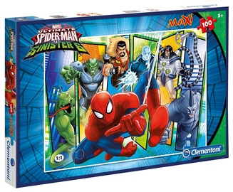 Dėlionė Clementoni Maxi SuperColor Ultimate Spiderman 07530, 100 dalių