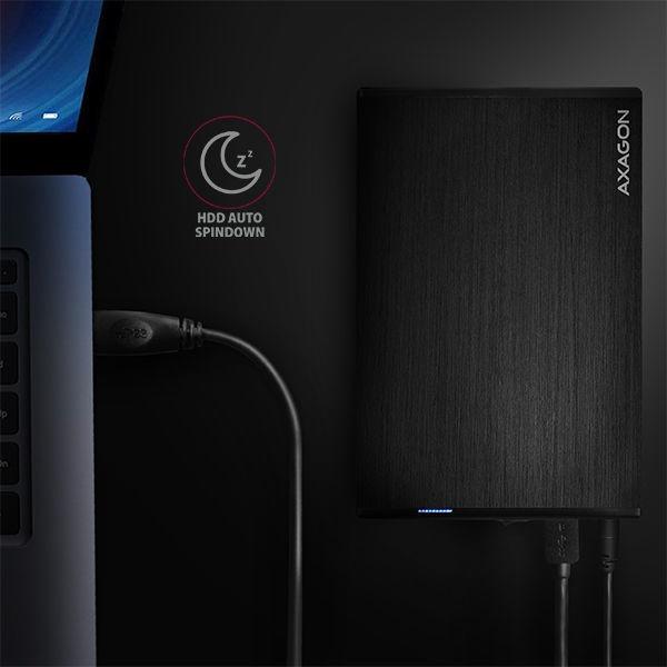 """Axagon EE35-XA3 USB 3.2 Gen 1 Aline Box 3.5"""""""