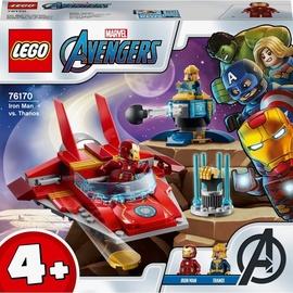 Конструктор LEGO Super Heroes Железный Человек против Таноса 76170, 103 шт.