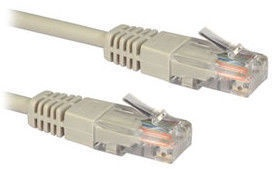 Roger LAN Cable CAT 5e 10m Grey