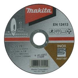 Pjovimo diskas Makita B-12239, 125 x 1 x 22.23 mm