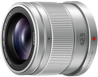 Panasonic Lumix G 42.5mm f/1.7 ASPH. Power O.I.S. Silver