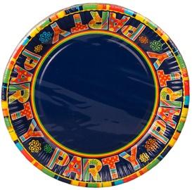 Pap Star New Party Paper Plates 23cm 10pcs