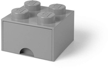 Room Copenhagen LEGO Brick Drawer 4 Grey