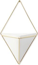 Декор для дома Umbra Trigg Large Wall Display White/Brass