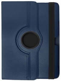 Etui Case With Rotated Stand For Samsung Galaxy Tab 3 7.0 Blue