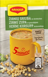 Žirnių sriuba su skrebučiais Maggi 5 Minutes, 22 g