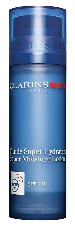 Losjons sejai Clarins Men Fluido Super Hidratante SPF20 50ml