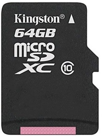Kingston 64GB Micro SDXC Class 10