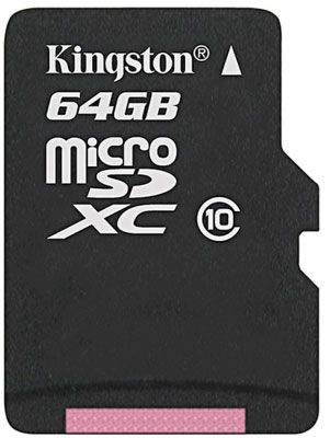 Kingston 64GB Micro SDXC Class 10