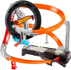 Mattel Hot Wheels Hyper Boost Tire Shop GJL16