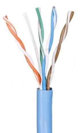 A-Lan Patch Cable UTP CAT5e 305m Blue