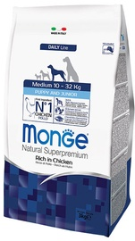 Monge Daily Line Medium Puppy and Junior Rich in Chicken 3kg