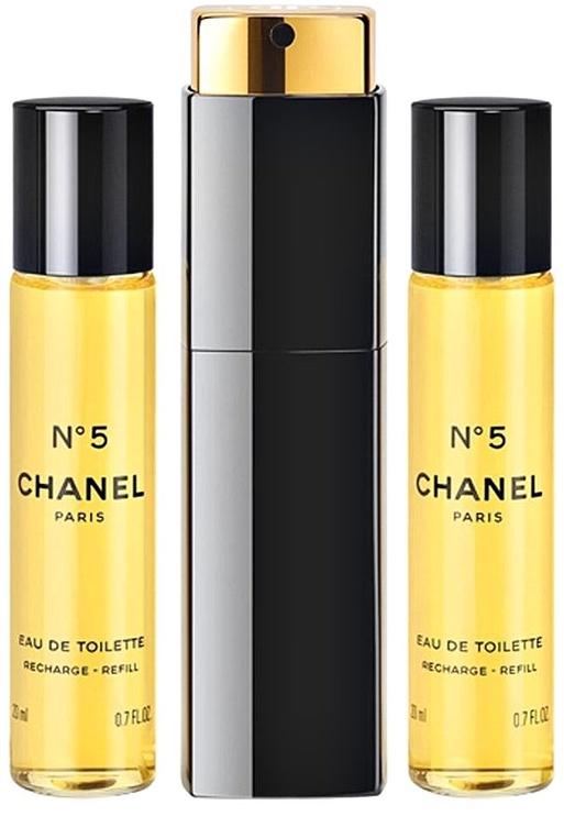 Kvepalai Chanel No.5 3x20ml EDT Travel Spray