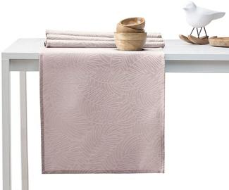 AmeliaHome Gaia AH/HMD Tablecloth Set PowderPink 115x250/35x250 2pcs