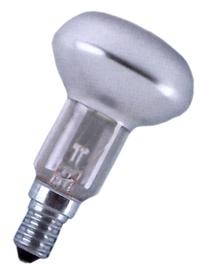 Kaitrinė lempa Osram R63, 60W, E27, 2700K, 310lm, DIM