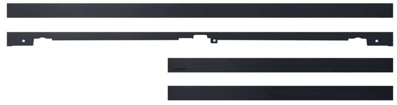 Samsung Customize Frame 65'' Black Metal