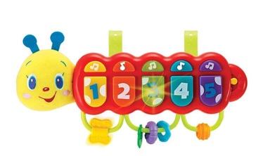 Interaktyvus žaislas WinFun Musical Caterpillar