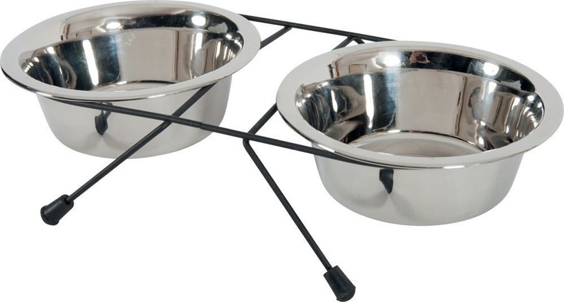 Zolux Stand With Bowls 2x1.3l